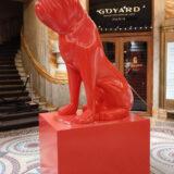 Sculpture-polystyrene-chien-album-sculpture